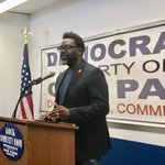 Image for the Tweet beginning: Cook County Commissioner Brandon Johnson