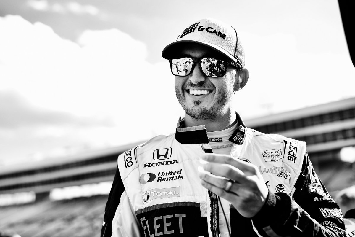 #DXC600 Raceday Mood. @GrahamRahal | #IndyCar