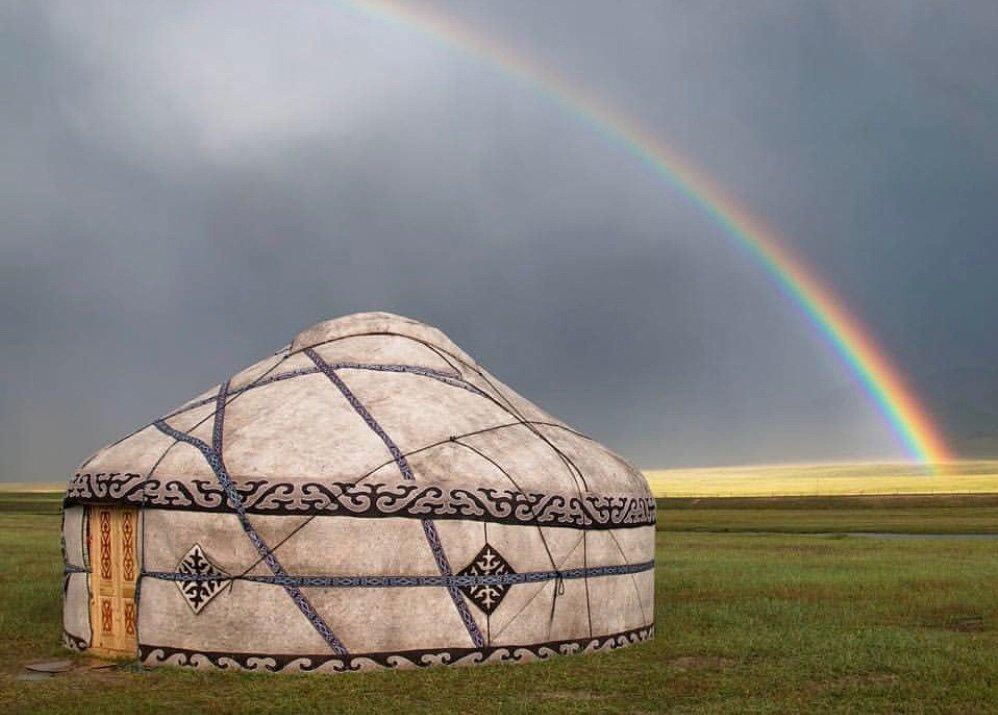 картинки красивой юрты расположена сельская