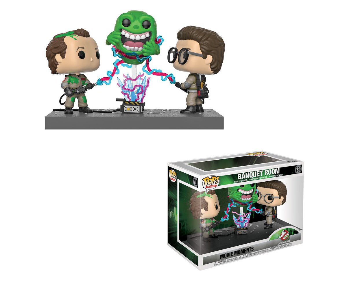 RT & follow @OriginalFunko for a chance to WIN a #Ghostbusters Pop! Banquet Room Movie Moment! #Ghostbusters35
