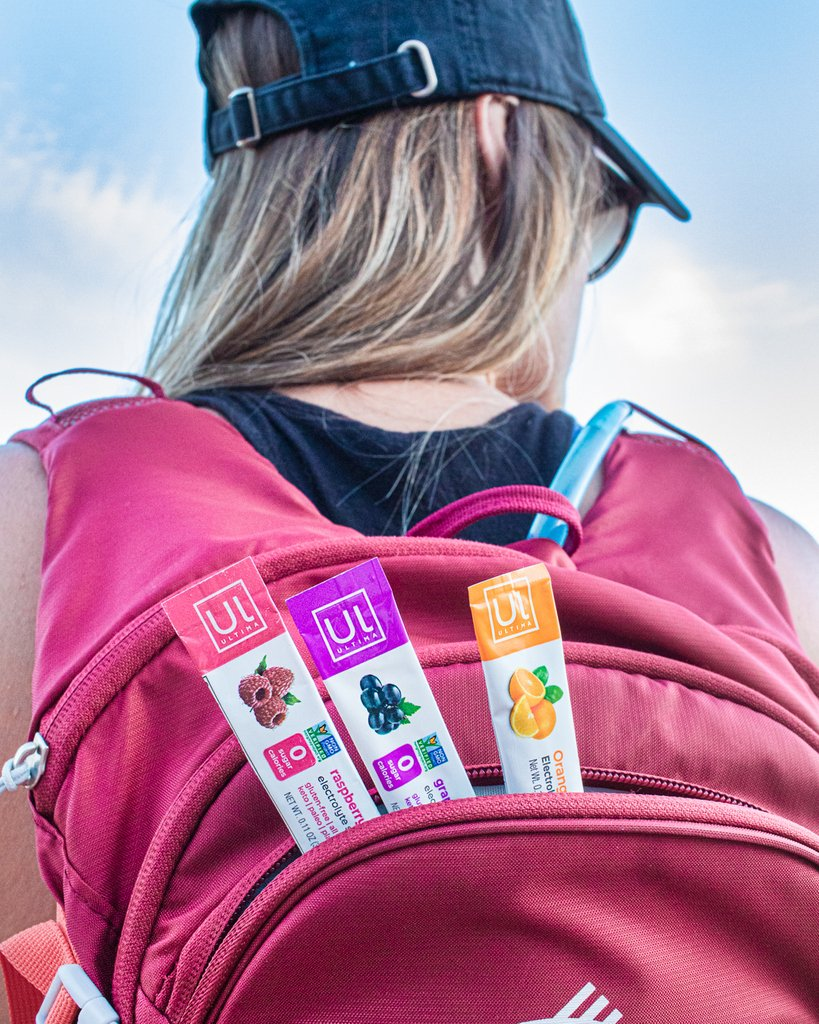 Ultima stick packs are the perfect way to bring delicious hydration with you on any adventure this weekend. Where are you taking Ultima?! 💧☀️🧗‍♀️ #GoUltima . . . . #ultima #ultimareplenisher #stayhydrated #electrolytes #hydrate #summer #hiking #backpacking #hydrationonthego