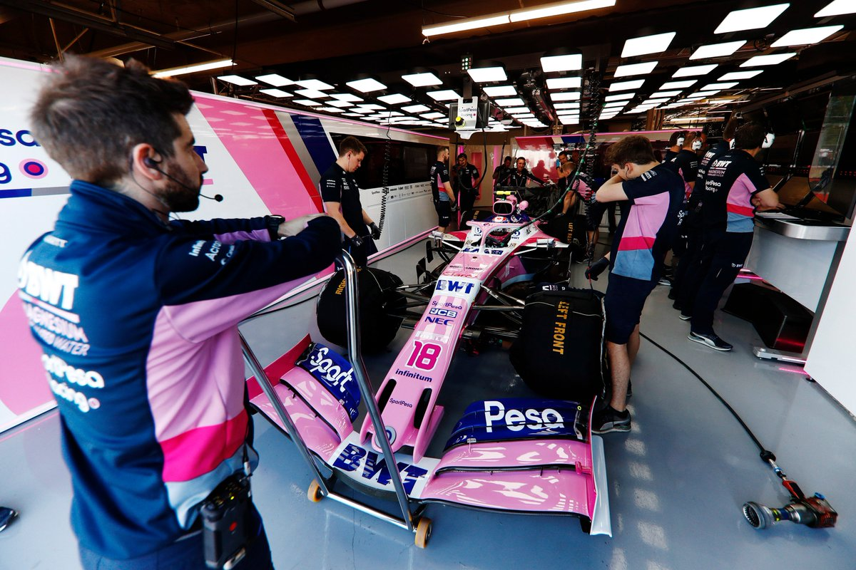CONFIRMED: @lance_stroll suffered an engine failure in FP3 - cause as yet unknown 🔧  We've reverted his car to PU1 and he will be back out on track for Qualifying 👍  Top job from the crew in the garage for turning it around in time 🙌  #MakeItCount #F1 #CanadianGP