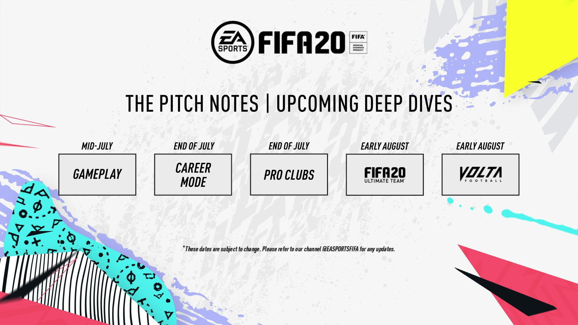 Calendrier Ea.Ea Sports Fifa On Twitter Read More About Fifa20 Gameplay
