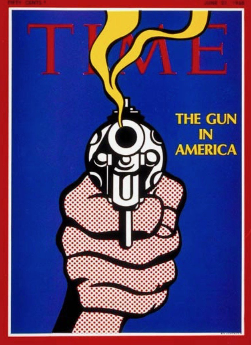 """""""The Gun in America""""—Time Magazine, 51 years ago this week, after Robert Kennedy's assassination:"""