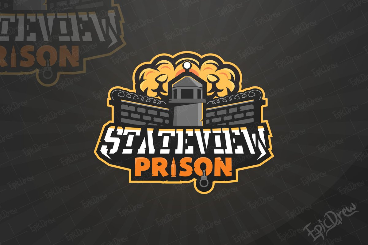 Break Out! Commission logo for the game Stateview Prison had a lot of fun making this! ❤️'s & RT's Appreciated!  #RobloxDev #Roblox --- known members/devs @StateviewRBLX