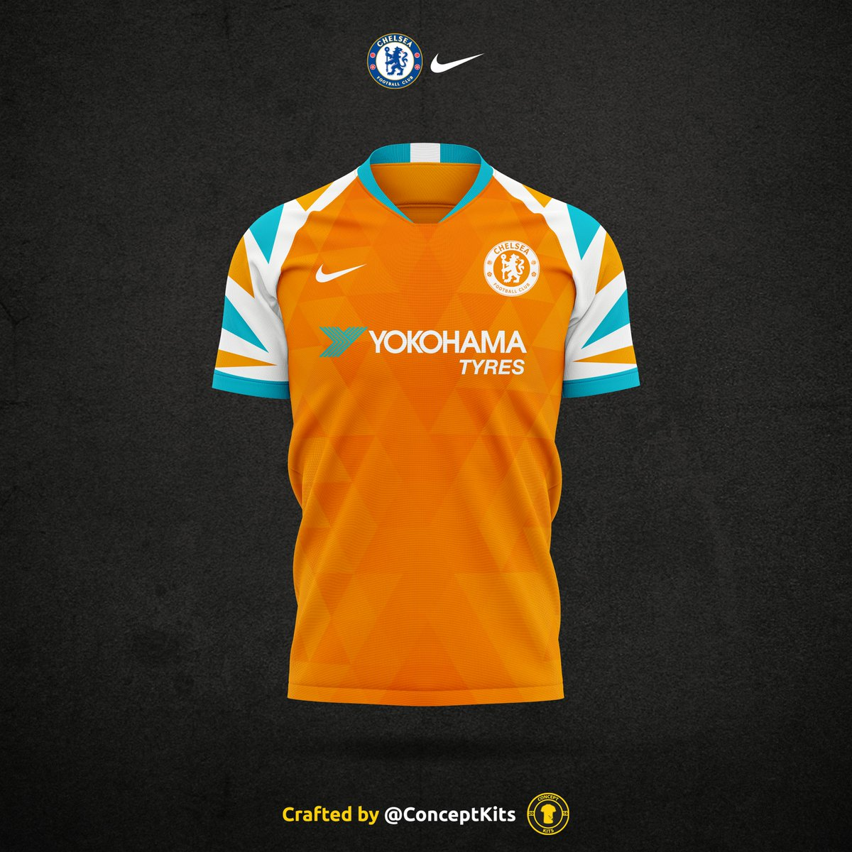 new york be4c6 5381f Chelsea Football Club away kit concept for the 2019/20 ...