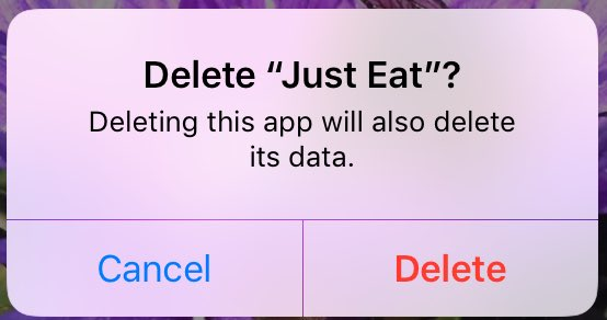 Just Eat Uk On Twitter Were Really Sorry If That Was The