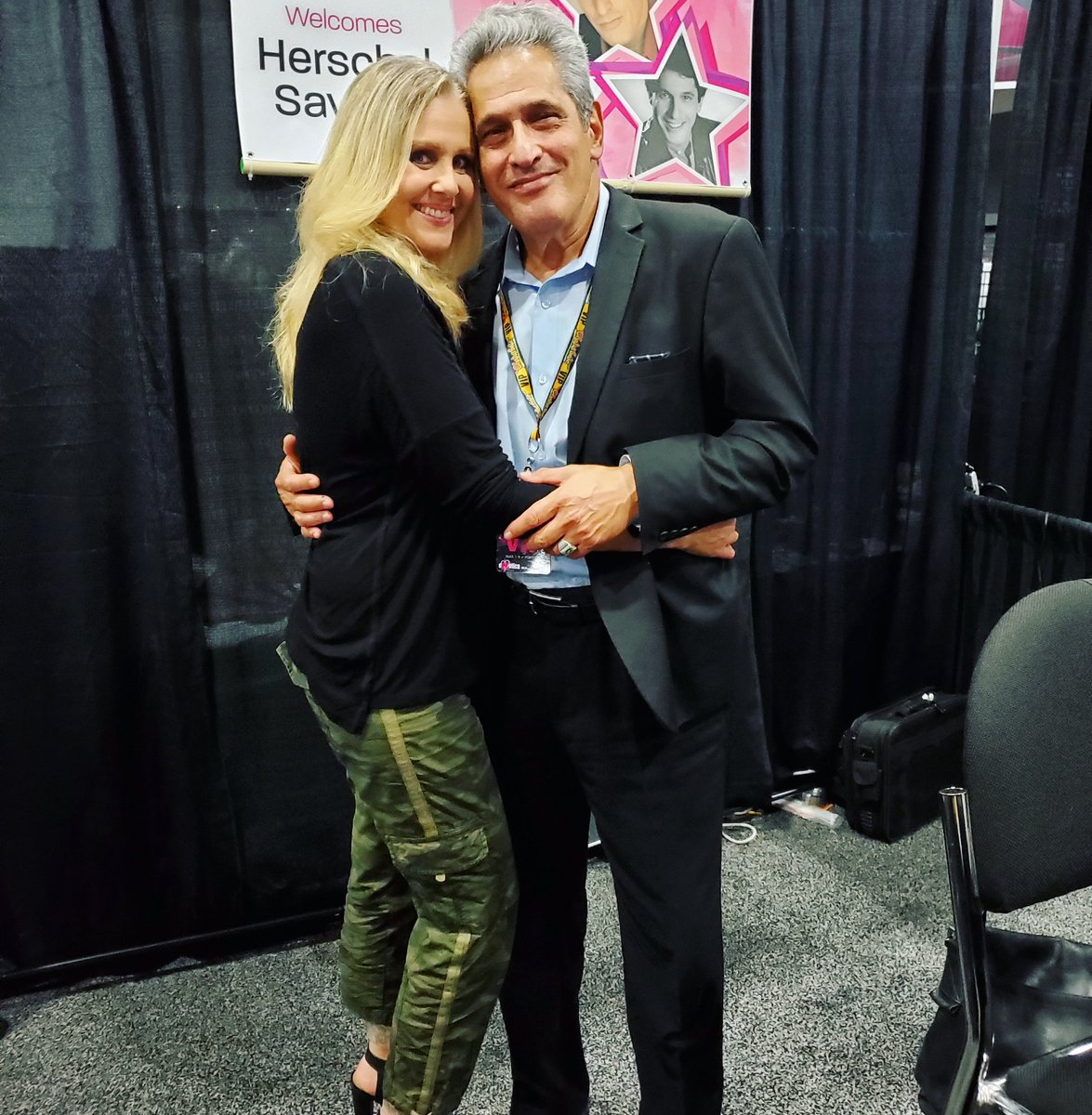 Hanging out with adult film legends @msjaninelinde @ChristyCanyon11 and Herschel Savage, @EXXXOTICA Portland Oregon. Come see us today and Sunday