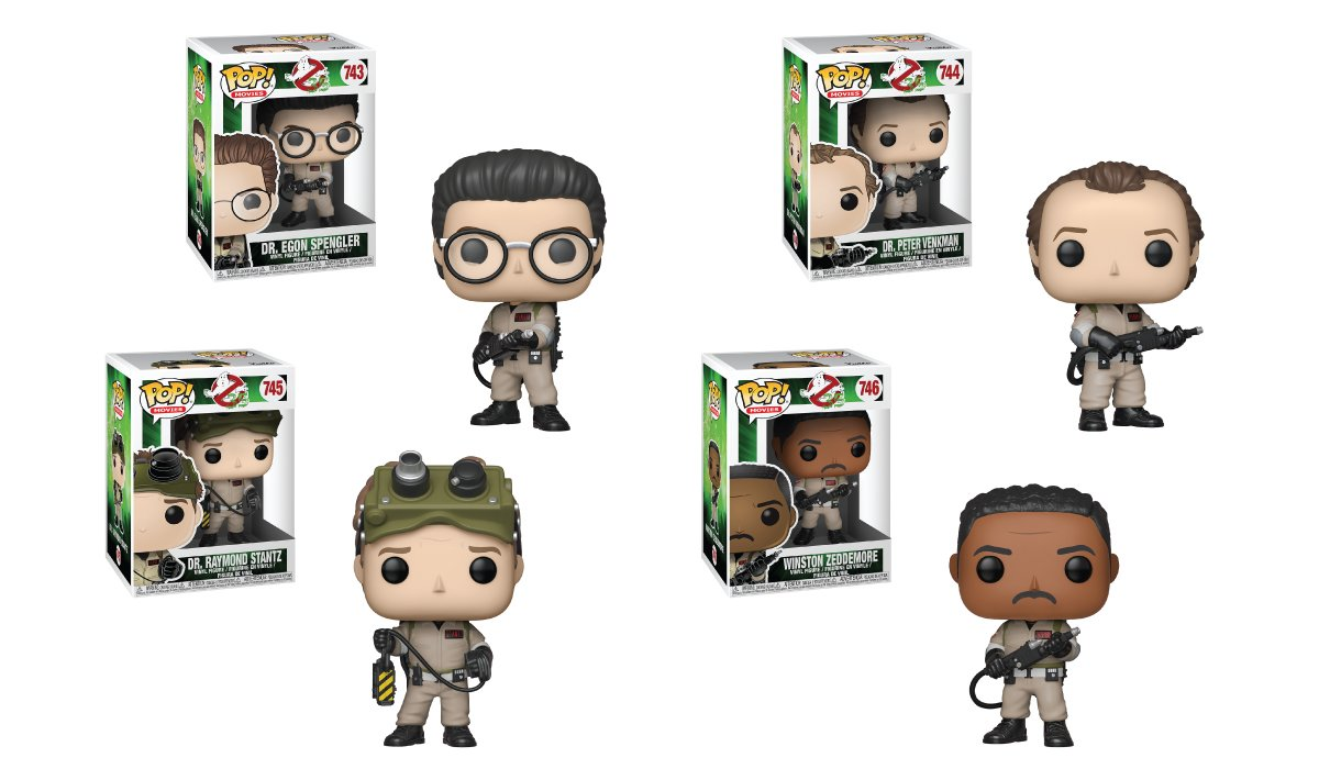RT & follow @OriginalFunko for a chance to WIN a #Ghostbusters Pop! Prize Pack!! #Ghostbusters35