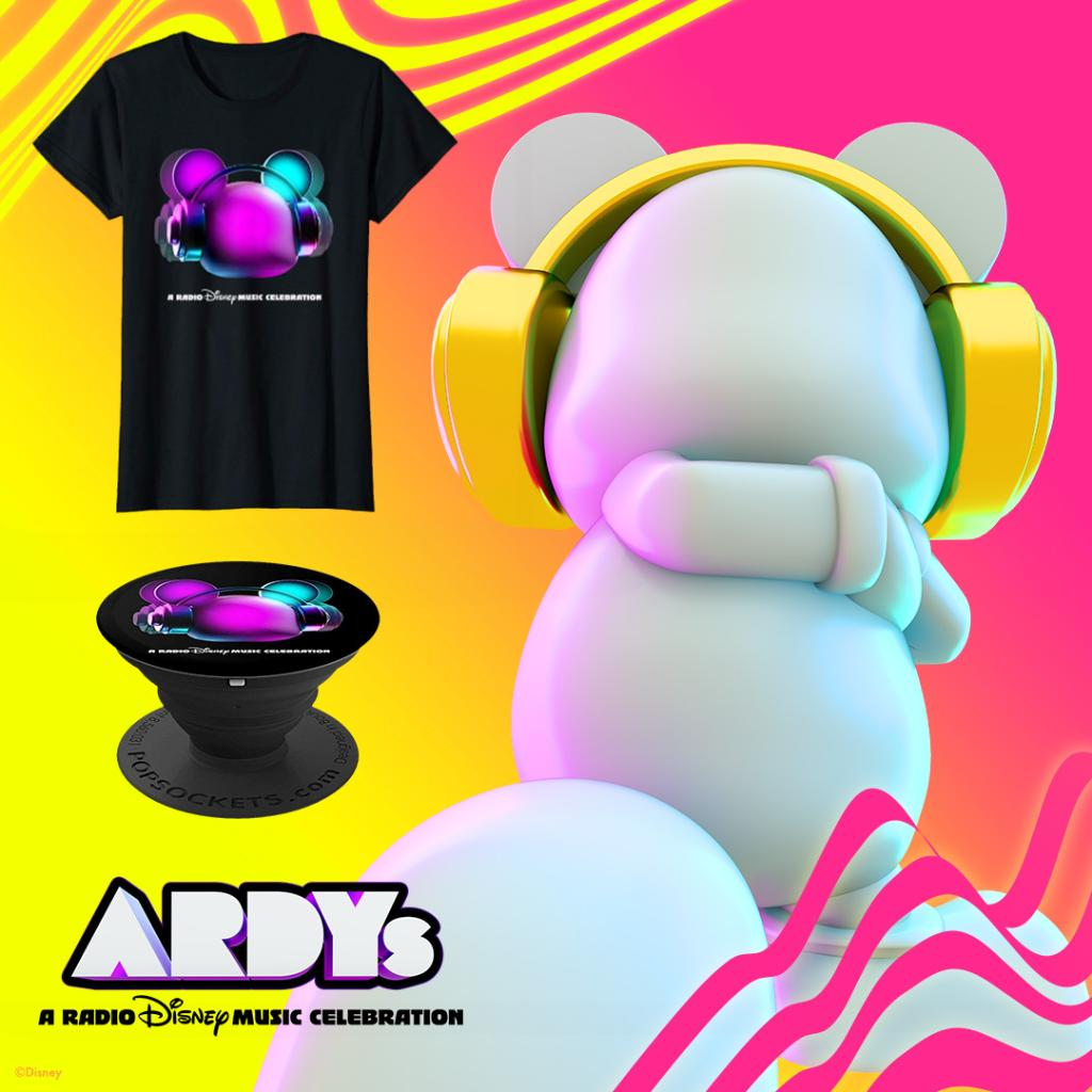 Get ready for #ARDYs: A Radio Disney Music Celebration with T-shirts and PopSockets from Amazon.com/ARDYs!