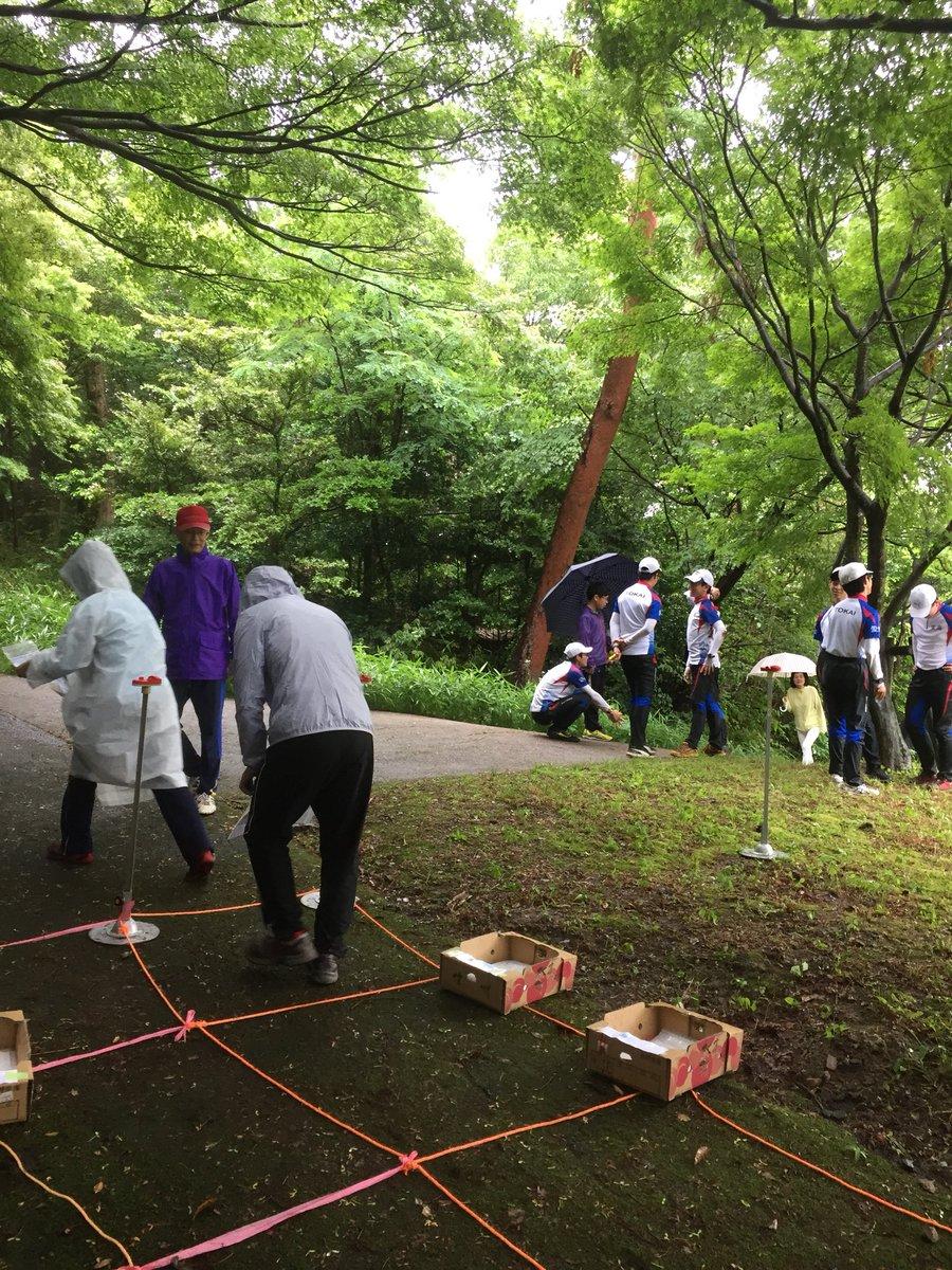 本日は雨の中インターハイ関西セレの岡崎練習会に参加しています。