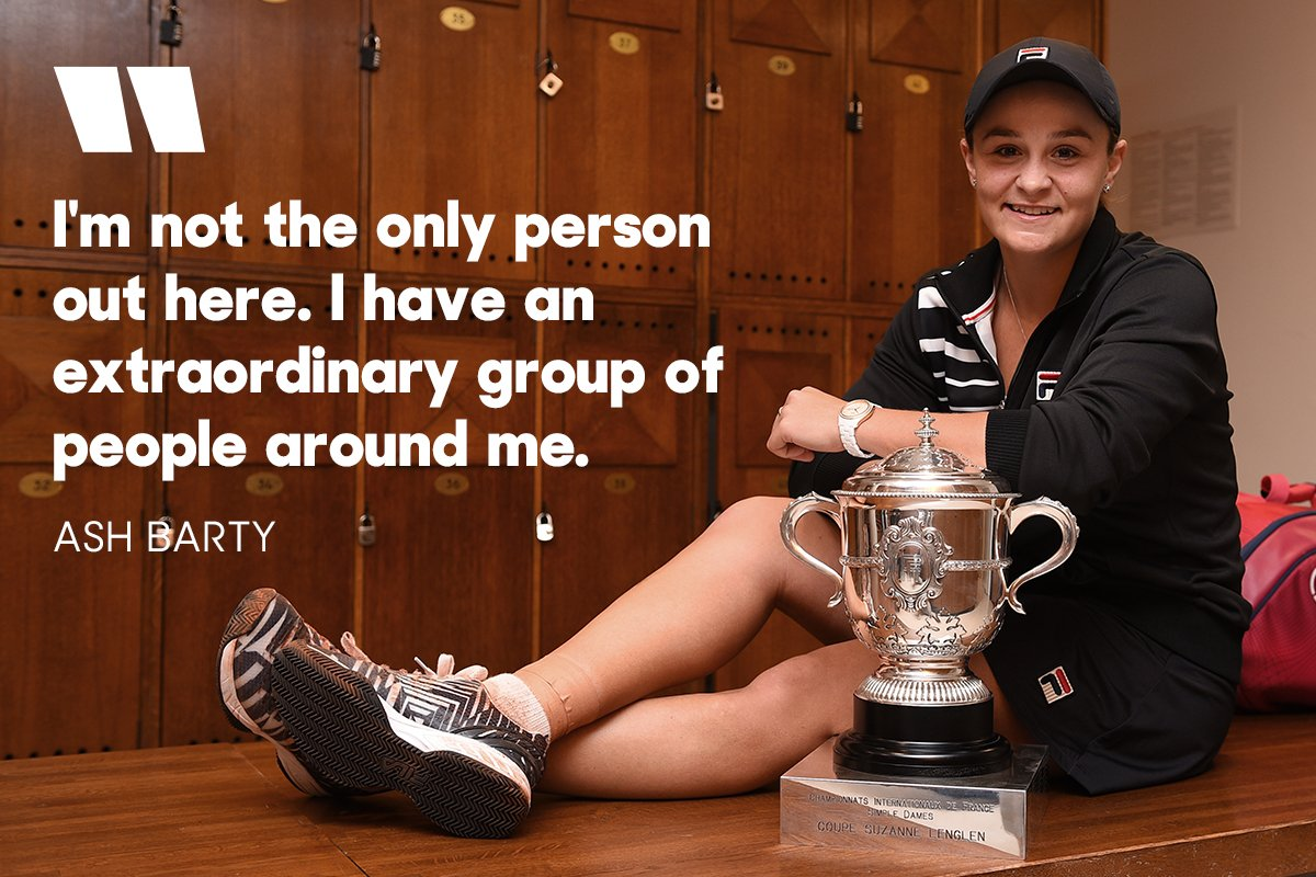 It takes a village. Congratulations @ashbar96 and to your team 🏆 👏