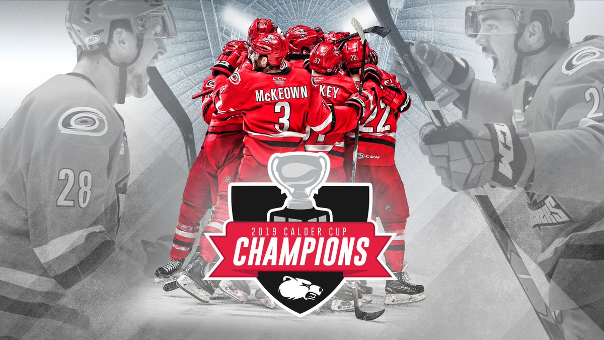 The Checkers are CALDER CUP CHAMPIONS!!!   Full Story » http://n.carhur.com/2X2dgtK