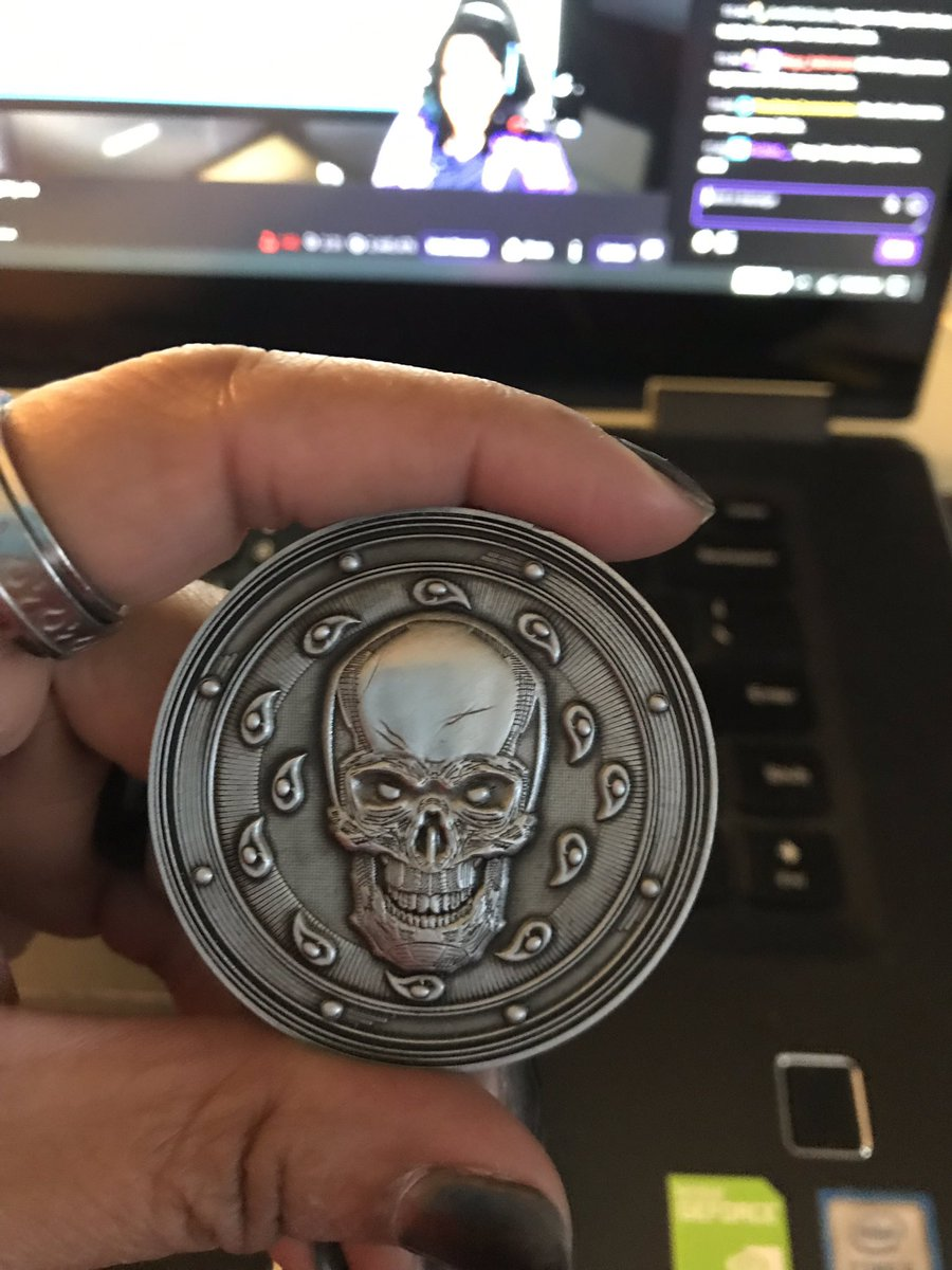 Hey you know what's pretty cool about tomorrow? In addition to Season 4 kicking off?  One lucky winner will be chosen for a #DnDLive2019 exclusive swag, the Soul Coin.   Note: Soul Coins do not come pre-filled with a Soul, @Wizards_DnD is not responsible for providing one. <br>http://pic.twitter.com/Bi11Kj1pue