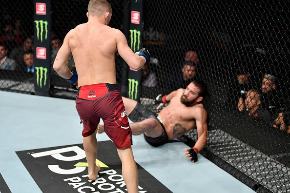 """""""I was already expecting a very tough fight, everything that Jimmie threw, the pressure, the kicks, the left hooks – I was prepared for. In the end of the rounds, it was just important to be in control and finish strong."""" ~@PetrYanUFC #UFC238"""