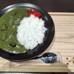 辻利が販売した緑色の「抹茶カレー」!その味は…?