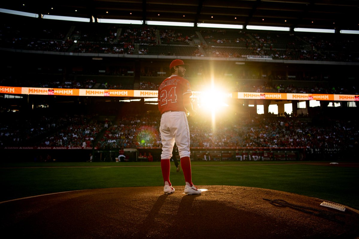 Scenes from Saturday night's 12-3 win over the Mariners. #TheHaloWay    »  https:// atmlb.com/2wFyoqP    <br>http://pic.twitter.com/P3E1aGWrbY