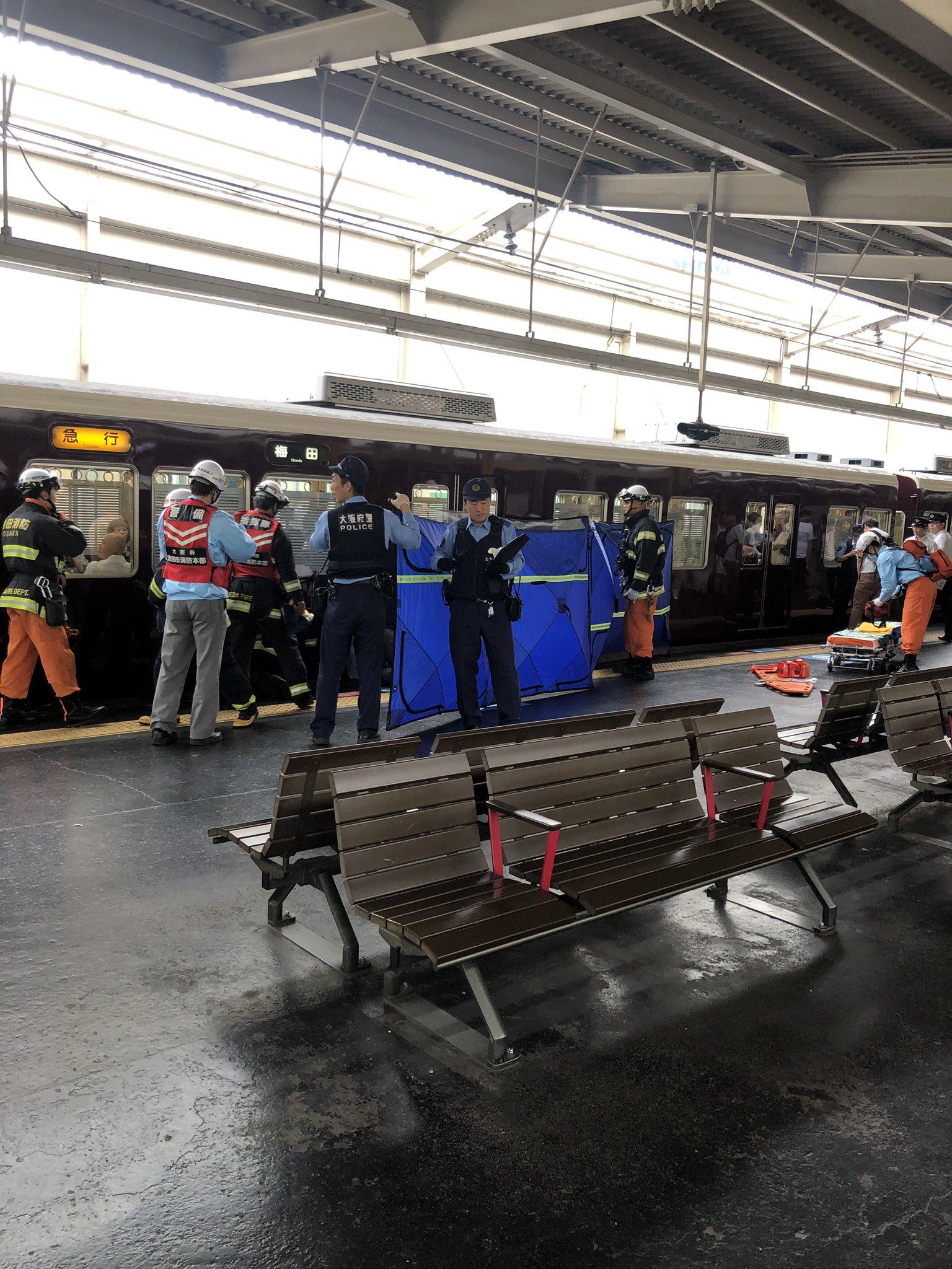 池田駅で人身事故「電車と接触しバラバラ」宝塚線が大混雑 飛び込みか