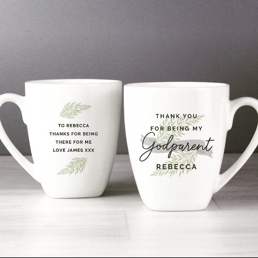 Personalised Thank You Gifts For Godmothers Gift Boxed Thankyou Godmother Mug