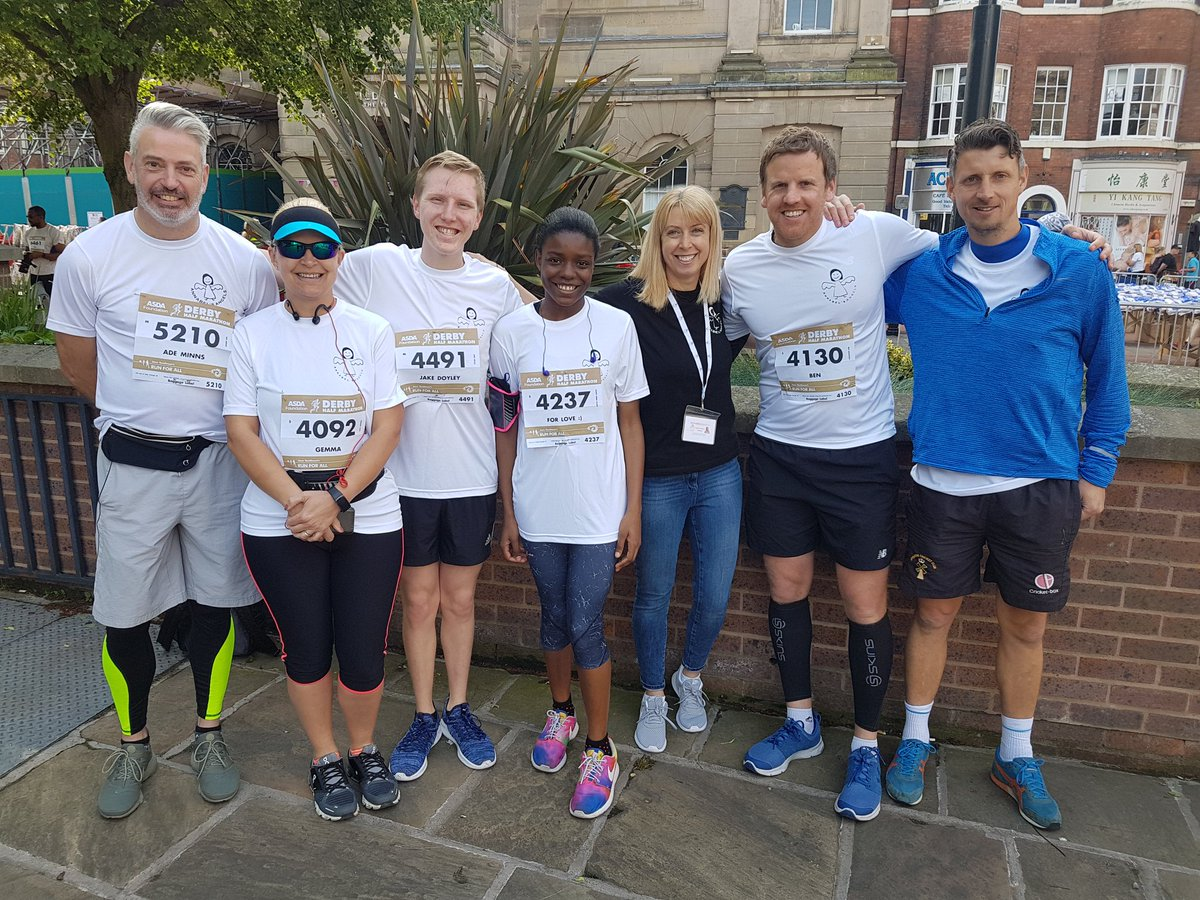 Fantastic atmosphere at the @Ramathonhalf this morning! Good Luck to everyone taking part.