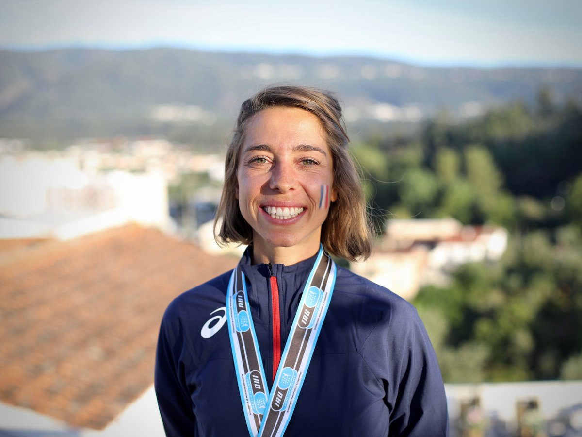 ICYMI: Get to know 2019 Trail World Champion Blandine Lhirondel of France after her breakout win. i-rn.fr/19TWC-Lhirondel #TWC