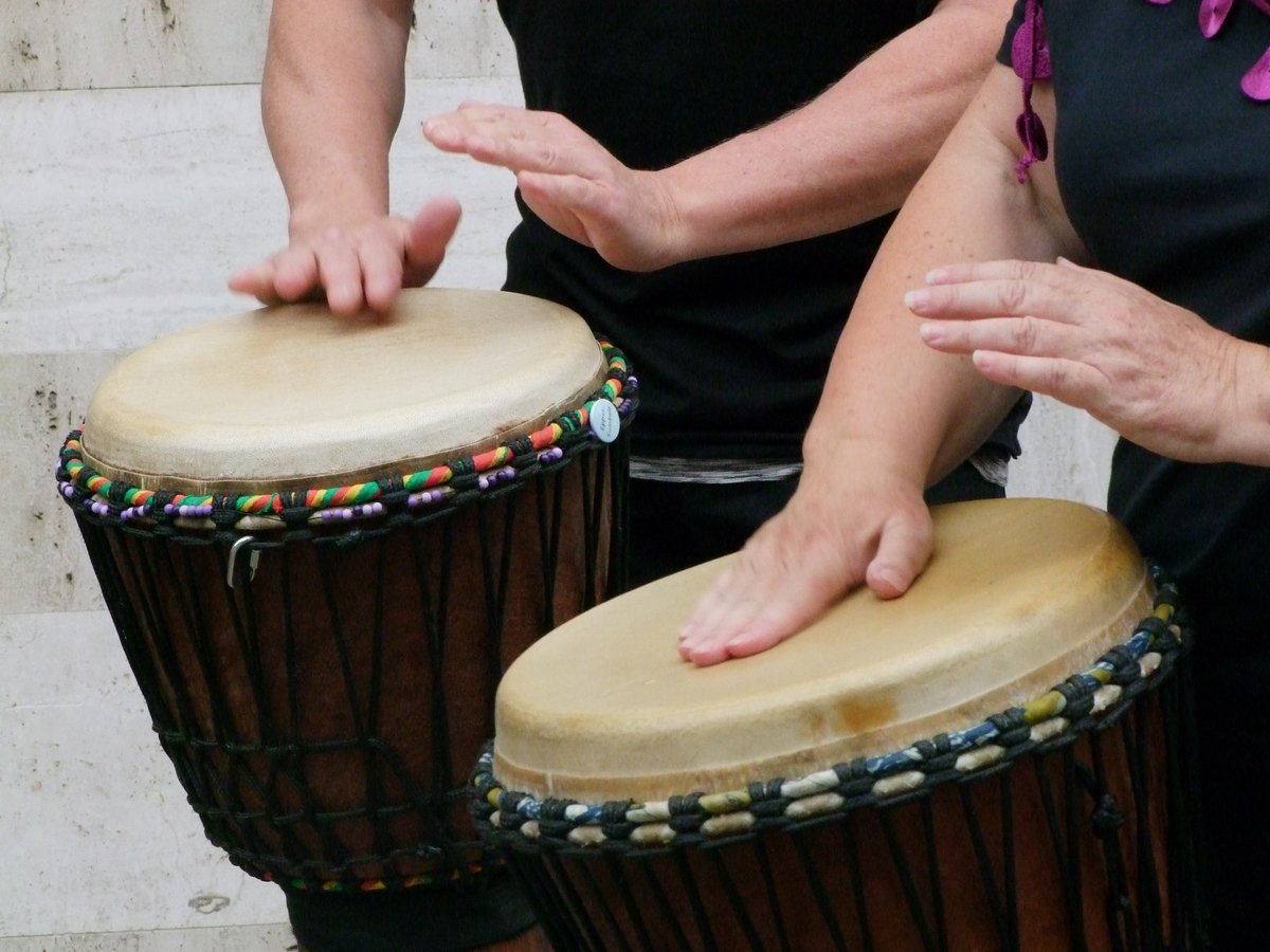 Klitsgras Drumming takes place every second Saturday. It's a musical experience that touches mind, body and soul – something that you can share with family and friends.   @KlitsgrasD #Drumming #Musical #Experience #Body #Mind #Soul
