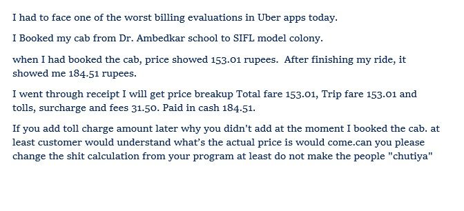 #uber #cab ke chutiyapa calculation Here you go and check my postpic.twitter.com/d2dfCQdSOe
