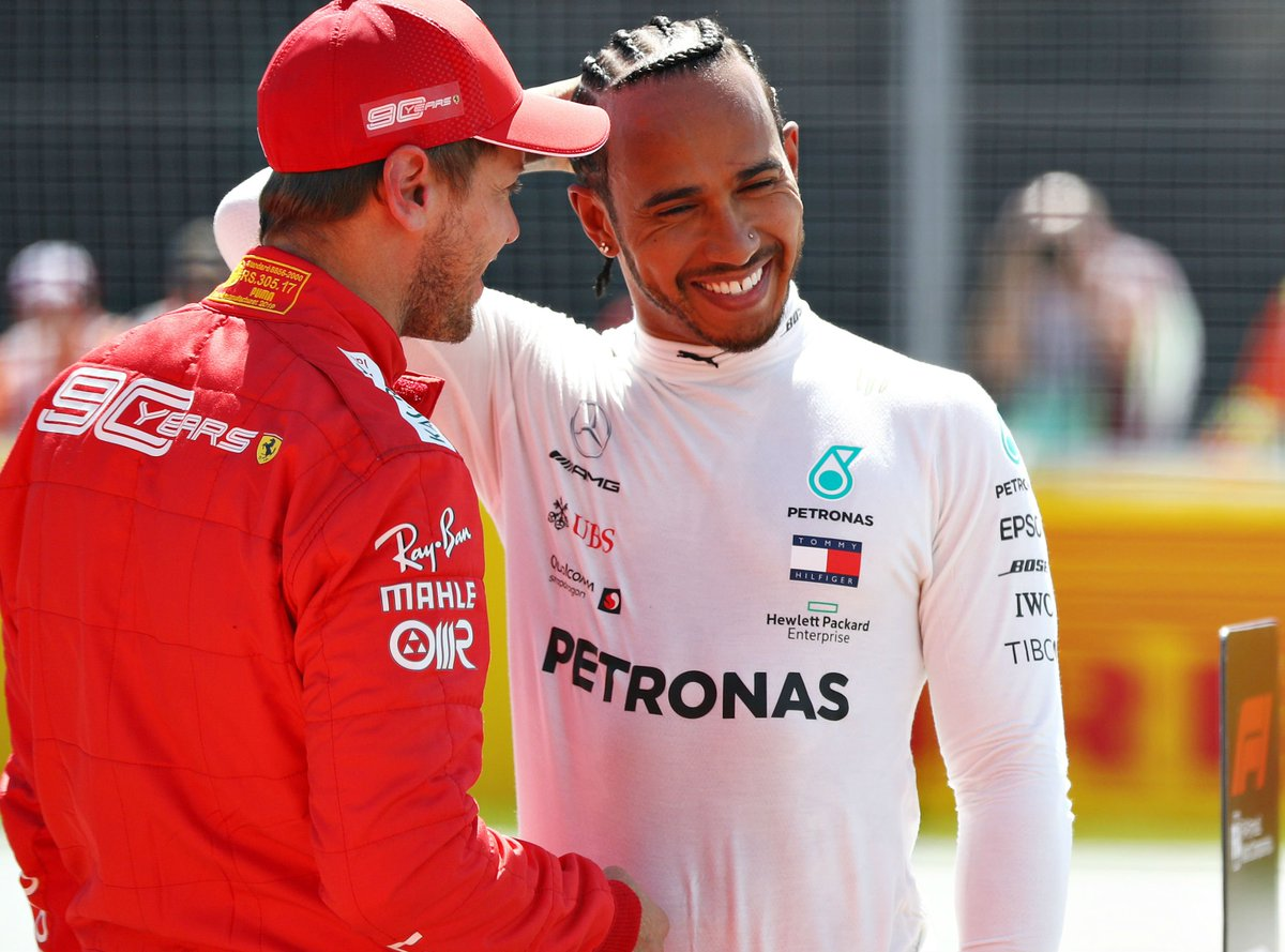 """🗣️""""I'm always up for a fight.""""  🗣️""""It will be a very, very close battle. We know our strengths, we know our weaknesses.""""  Lewis Hamilton and Sebastian Vettel ready for #CanadianGP fight  Watch race at 7.10pm on #SkyF1, with build-up from 5.30pm  https://www.skysports.com/f1/news/12433/11738207/canadian-gp-sebastian-vettel-and-lewis-hamilton-ready-for-close-fight…"""