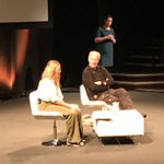 Image for the Tweet beginning: Wonderful q&a with Werner Herzog