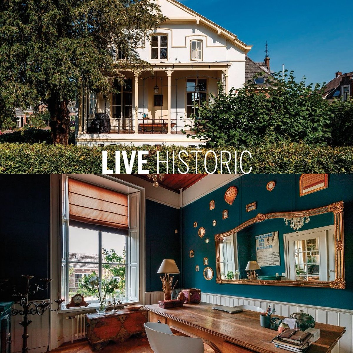 LIVE HISTORIC -- Just outside Utrecht in the charming village of Oud Zuilen you will find this enchanting mansion with a charming garden. #OudZuilen #historic #monument #sothebysrealtynetherlands #sothebysrealty #Netherlands   INFO: https://buff.ly/2JSFno5