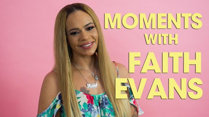 """June 10:Happy 46th birthday to singer,Faith Evans (\""""I\ll Be Missing You\"""")"""