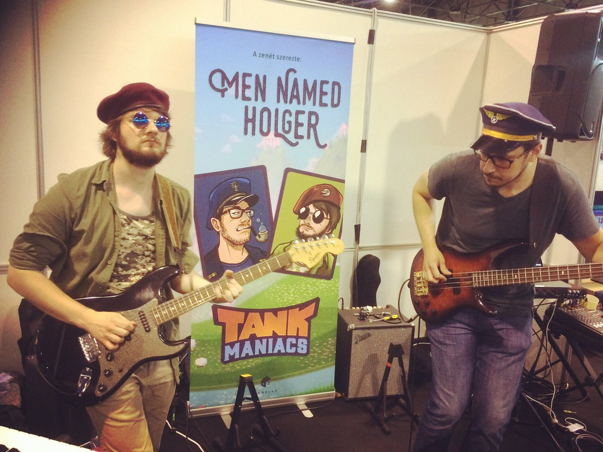Me and our Tank Maniacs-selves rocking out #tankmaniacs #GameMusic  #gameost #gamedev #gamedevelopment #gameaudio #Videogame #videogames #indiedevstudio #indiedevhour #indiegamedev #indiedev #music #indiemusic #indieDev #GamersUnitepic.twitter.com/rrZX2WVwGY