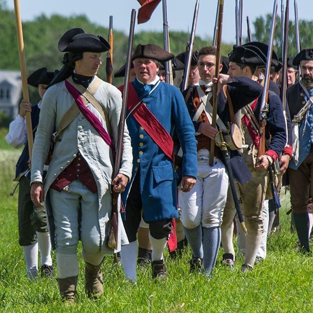 Hope you all come out to see the 2nd mass today at the Battle of Newburyport! #massachusetts #reenactment #revolutionarywar #patriots #newengland https://t.co/8L9uIbn1oX