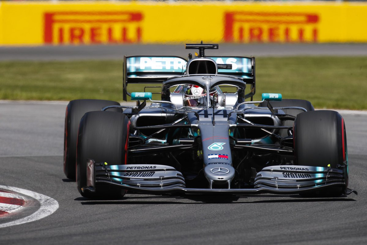 Best of luck for the race today #cHAMp 🙌 looks like it's going to be a good battle with Seb I know you'll love that! 👊 #TeamLH right behind you as always #LetsGo 🔨🕐 #CanadianGP