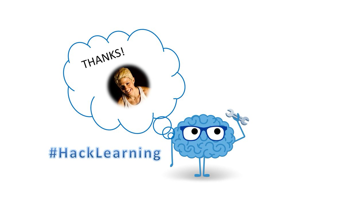 Please join me in thanking @RavesiWeinstein for moderating #HackLearning today.
