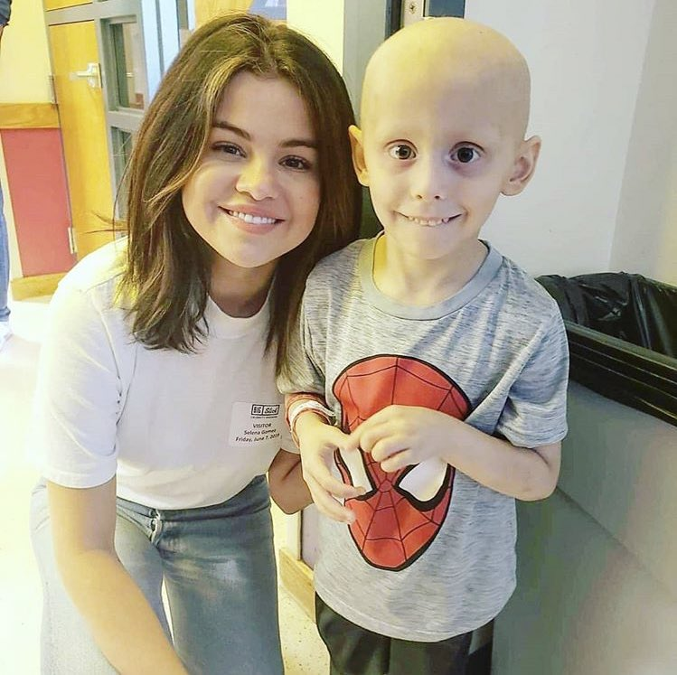Her heart is honestly too big for this world. Most people become arrogant and rude when they get power, fame and especially money, but not Selena. She's honestly one of the most genuine celebrities we have.