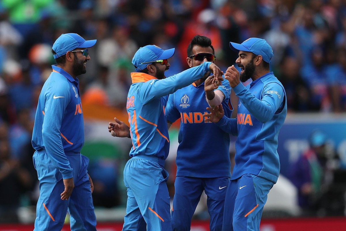 Resounding win for India. The batters led by Shikhar were fantastic and I thought the bowlers executed their plans superbly, Bhuvi bowled beautifully. The team bonding looks great and a very promising start to the World Cup for Team India. #INDvAUS