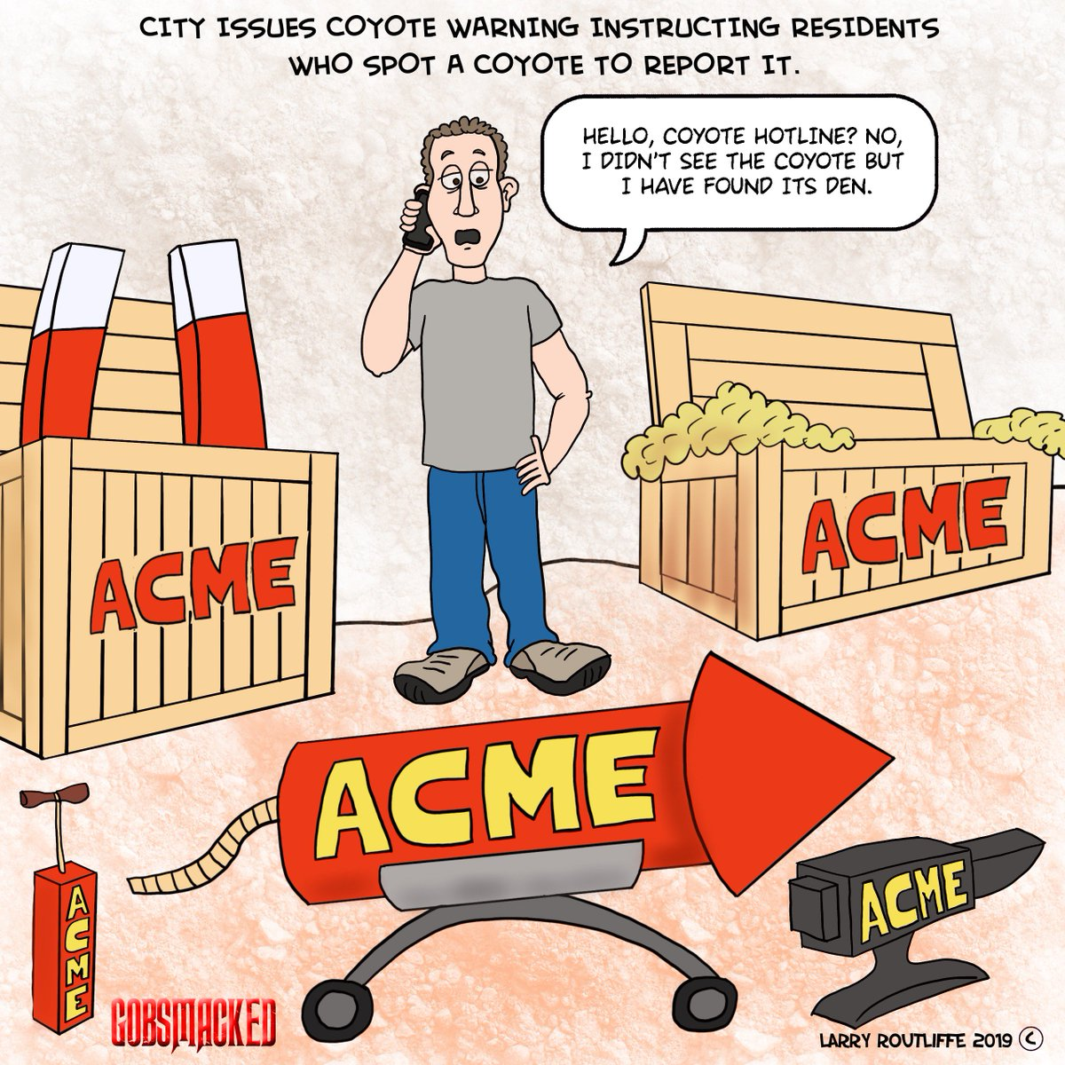 #Coyotes #wilecoyote #acme #supergenius #webcomic