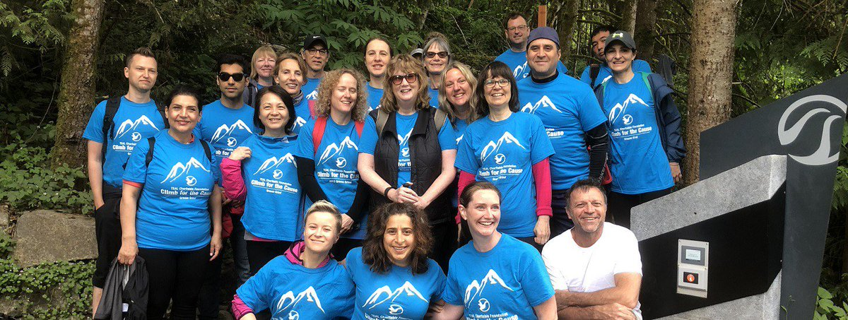 Climbers, hikers, and cyclists are getting ready to get out there for the 8th annual #ClimbForTheCause Find out more details and donate here:  https://www. bcteal.org/teal-charitabl e-foundation/climb/  …  #BCTEAL #positivechange #EAL #ESL<br>http://pic.twitter.com/QiXASH38jq