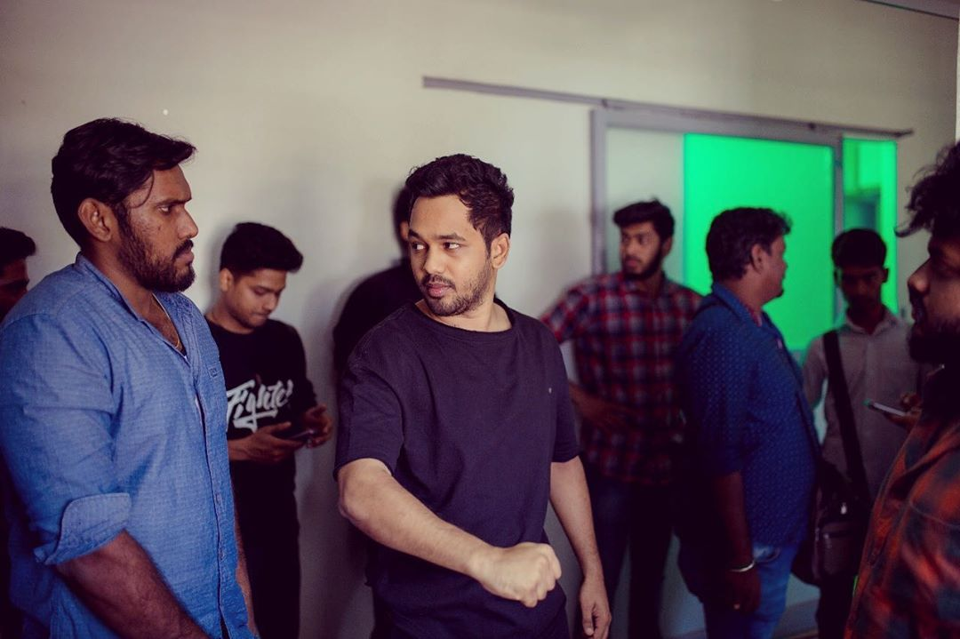 Devesh & Sreekanth - always with the pack from day one ✌🏻 #HiphopTamizha #NatpeThunai #Throwback