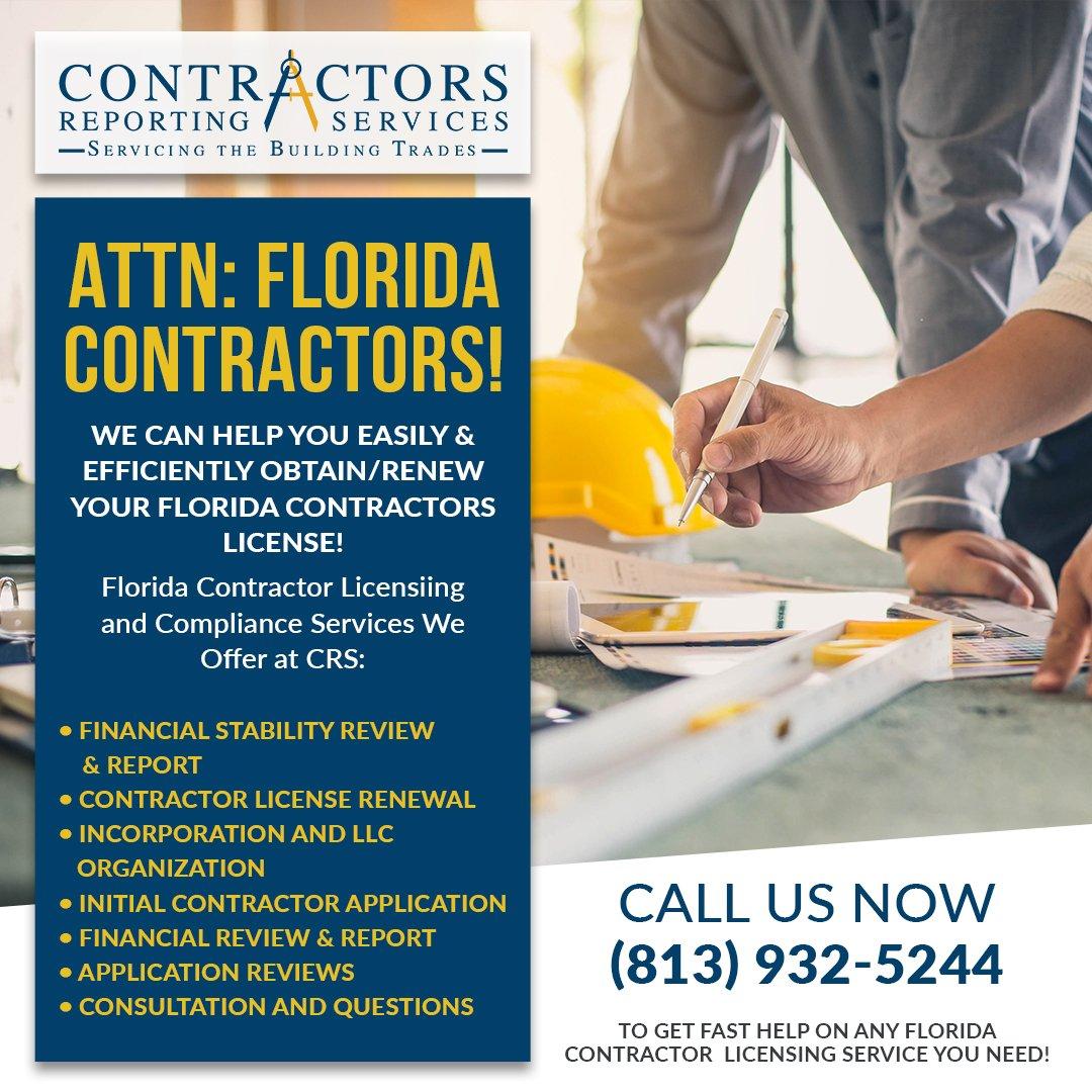 Contractors Reporting Services (@ContractorsRS) | Twitter
