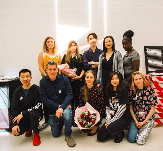 Spread the word: We think our MResRCA Communication Design Pathway is a pretty cool programme. Image: Collaborators from the #BookTestUnit2019 project launch @RCA @Pureprint https://t.co/YoRGG5jcYt