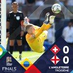 Image for the Tweet beginning: #SUIENG @England décroche la 3e