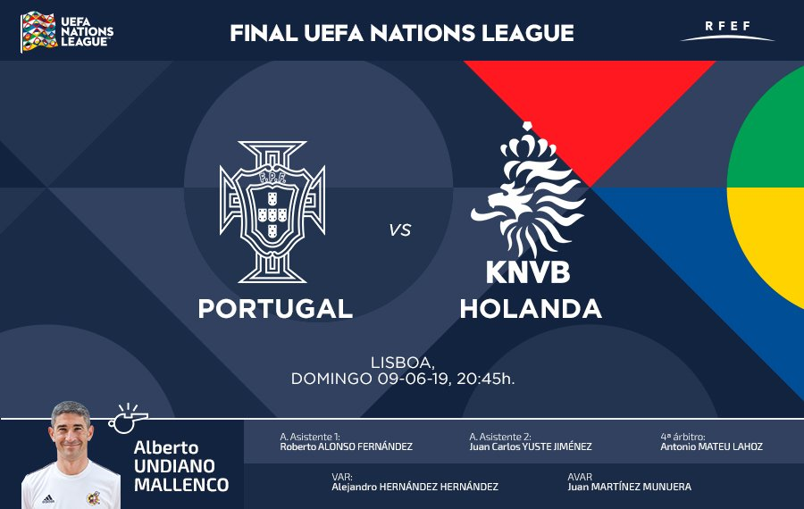 DESDE LA BANDA - FÚTBOL NAVARRO | ALBERTO UNDIANO MALLENCO FINAL UEFA NATIONS LEAGUE