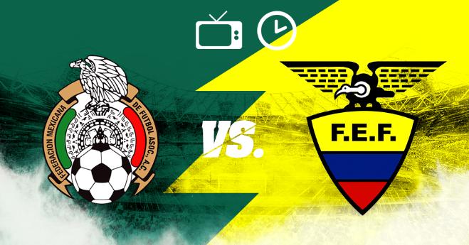 México derroto 3-2 a Ecuador en Amistoso 2019