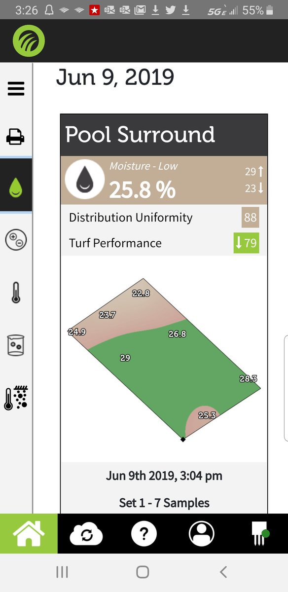 To use, when choosing visual insight in the TurfPro Mobile app or website, tap either All Points or Min/Max... These are found under the 3 horizontal line icon...the hamburger icon...