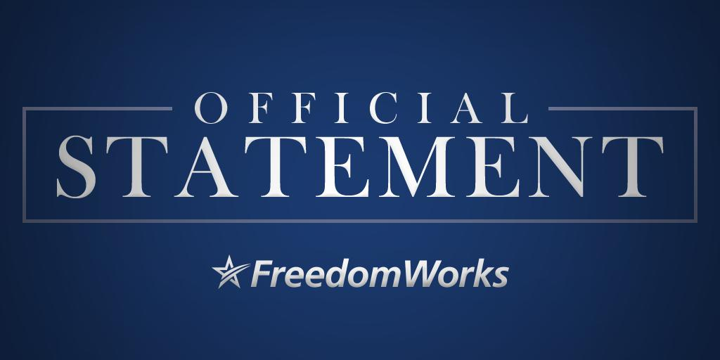 FreedomWorks on Twitter: