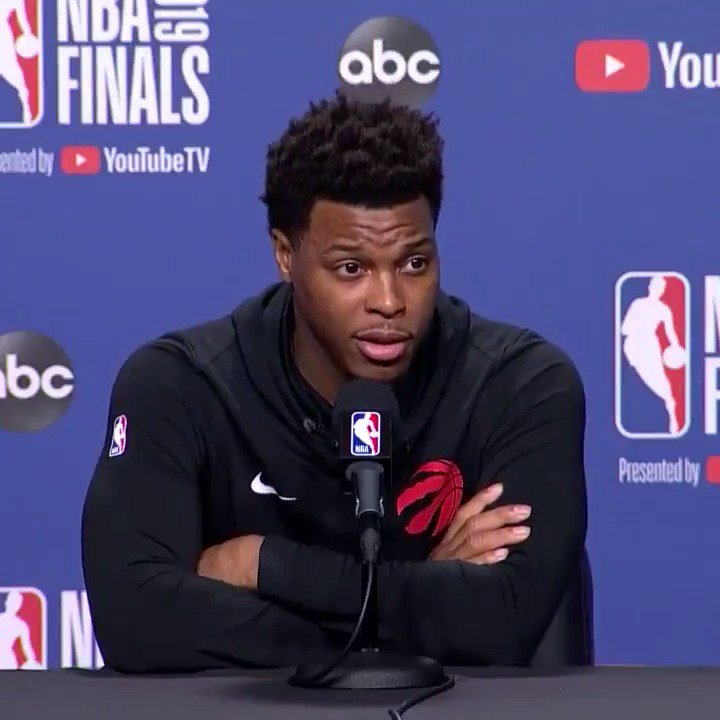 Kyle Lowry explains what real pressure is.  Powerful.
