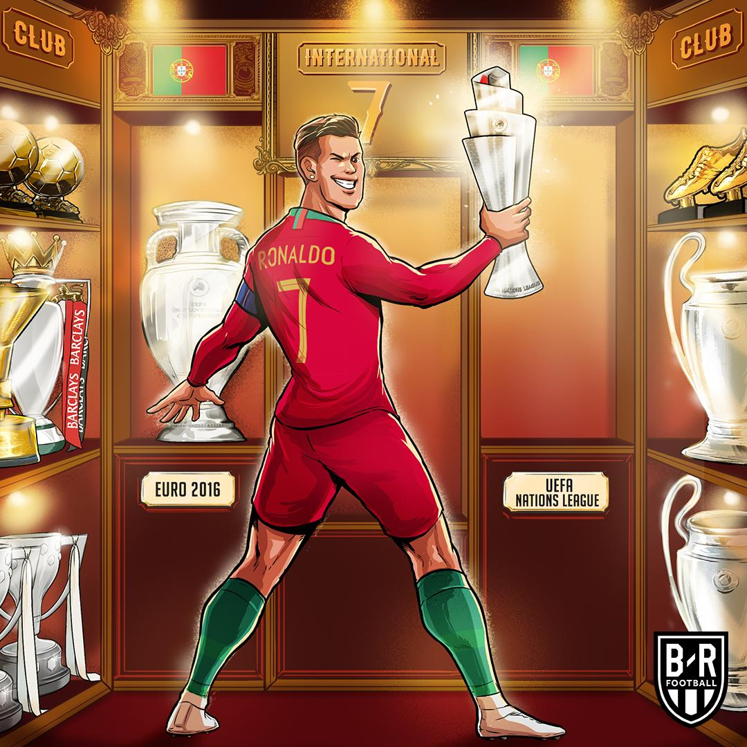 B R Football On Twitter Euro 2016 Nations League 2019 Portugal Win Another International Trophy