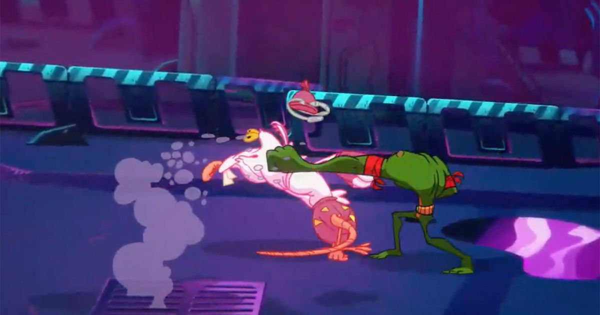 Here's your first look at 'Battletoads' for Xbox One
